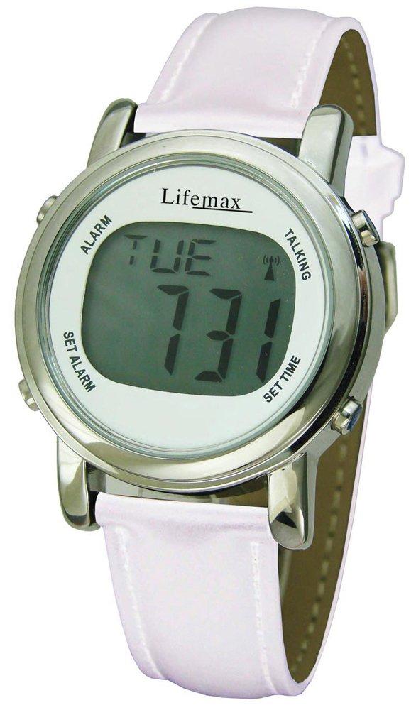 Lifemax Chic Atomic Talking Watch - White Design
