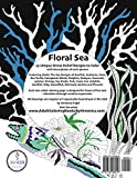 Floral Sea Adult Coloring Book: A Underwater