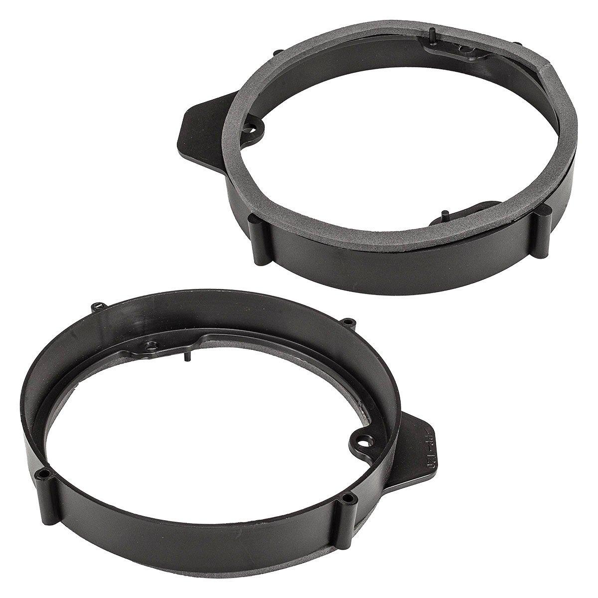 Adattatore altoparlante / - anelli MERCEDES A W176, 165 mm altoparlanti front porta tomzz Audio ® 2834-024