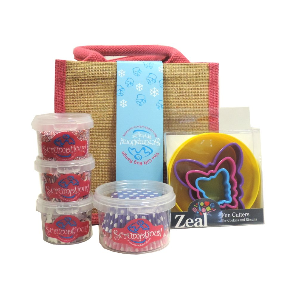 Scrumptious Sprinkles - Christmas Butterfly Gift Bag (Case of 4)