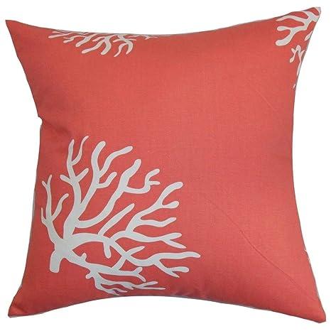 Amazon.com: 1 pieza 20 x 20 Rosa Coral de colores patrón de ...