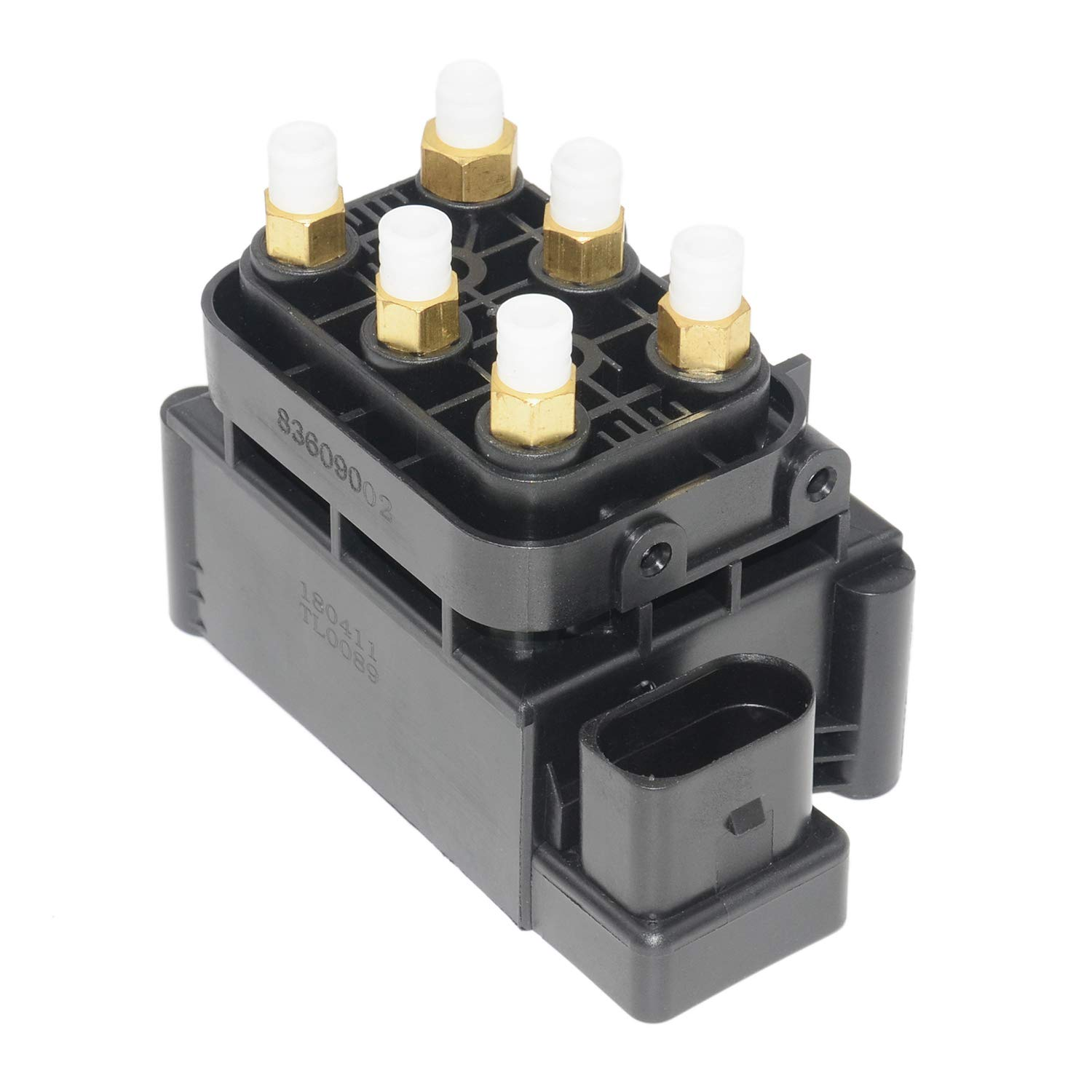 Air Suspension Solenoid Valve Compitable for Mercedes Benz W166 W164 W221 W251 2123200358 2513200058 GELUOXI