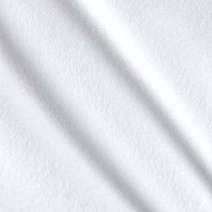 Amazon.com: Cloud 9 Organic Solid Flannel Cloud White Fabric By The Yard