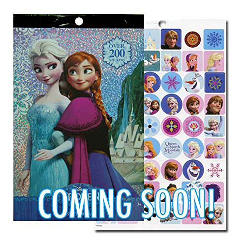 Disney Frozen Characters (Disney Frozen Stickers - Over 200 Stickers - Elsa, Anna, Olaf, and Kristoff)