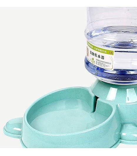 LLYU Dispensador de Agua para Mascotas, dispensador automático de Agua para Mascotas para Perros y