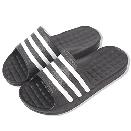 bdfff19c5 KT Korean Style Three Striped Slippers (M 5
