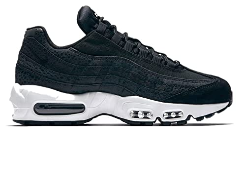 official photos 4433a 6a991 Image Unavailable. Image not available for. Color  Nike Women s Air Max 95  Black Summit White Running Sneaker Size 8