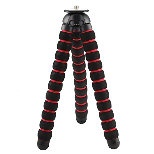 SHOOT Flexible Sponge Tripod Stand for DSLR Mirrorless and SLR Cameras Camcorder