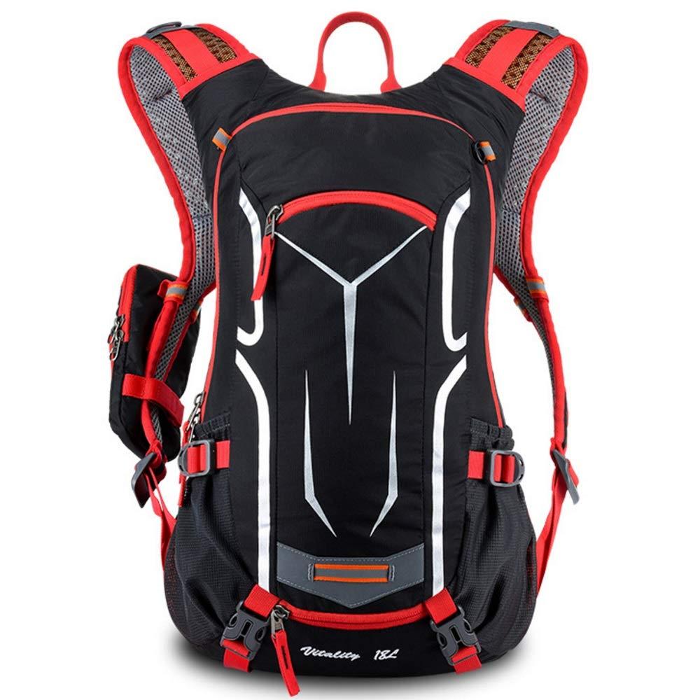 Mutangバイクバックパック18lハイキングバックパック多機能耐水性通気性リュックサック旅行バッグマルチカラー  A B07G6314Y5