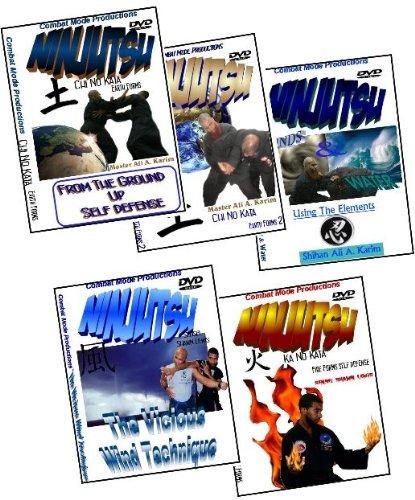 Ninjutsu Earth, Wind & Fire Forms Training DVD Set