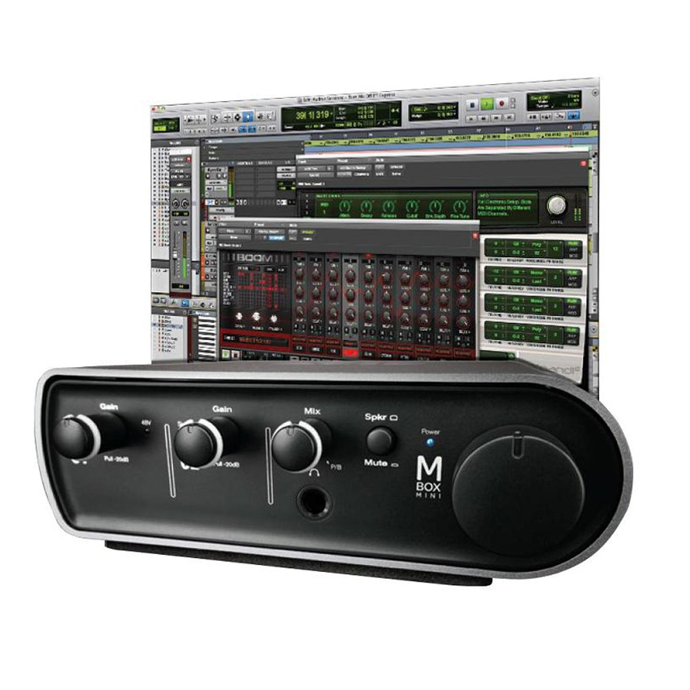 Amazon Avid Pro Tools Express With Mbox Mini Musical Instruments