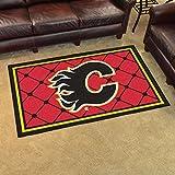 Calgary Flames 4x6 Rug