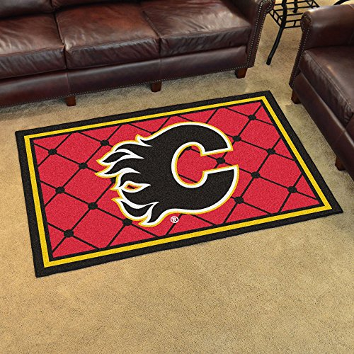 NHL - Calgary Flames Rug (Calgary Flames Utility Mat)
