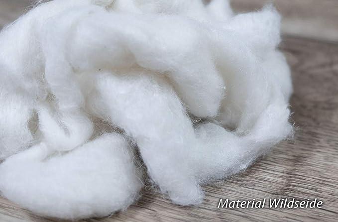 Sommerdecke 100/% Wildseide Bezug Edel-Satin Baumwolle waschbar Bettdecken Wiebke