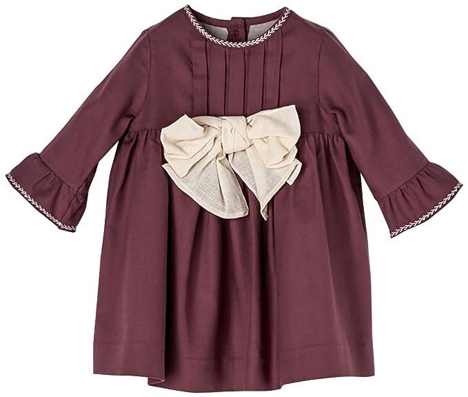 Nanos Mini, Vestido para Bebés, (Rosa), Recién Nacido (Tamaño del Fabricante:30M): Amazon.es: Ropa y accesorios