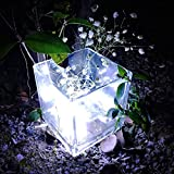 Kecar 10LED Copper Wire String BZ224 Led String Lights Fariy Lights Battery Operated Fairy String Lights for Christmas Wedding Parties Table Decoration (Cool White)