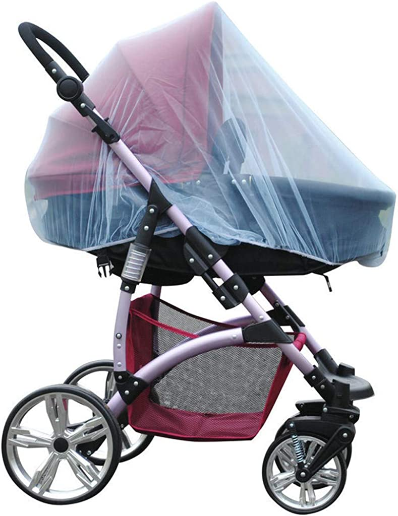 Huazi2/_Baby Baby Infant Mosquito Fly Insect Net Stroller Pushchair Pram Mesh Buggy Cover
