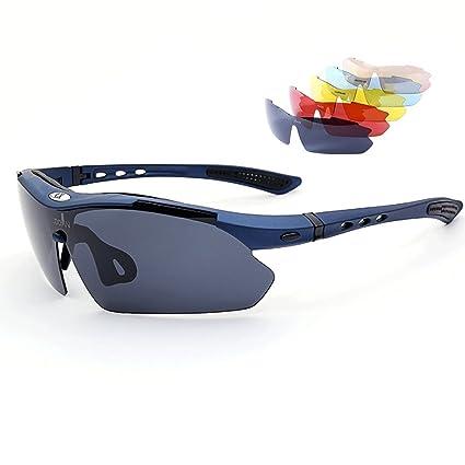 Los vidrios polarizados de los hombres miran la visión nocturna de la HD flotante gafas de