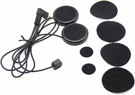 Freedconn Moto Syst/ème de communication souple c/âble Casque de moto Casque sans fil Bluetooth Headset mains libres pour moto Moto Casque Casques /écouteurs Microphone