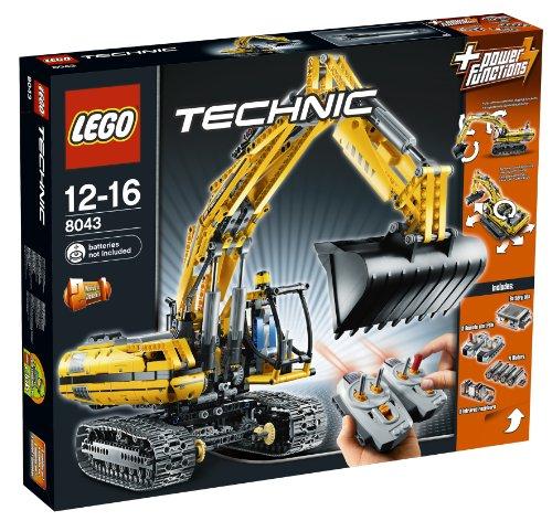 Technic Excavator - LEGO Technic 8043 Power Functions Motorized Excavator