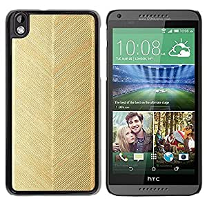 LASTONE PHONE CASE / Slim Protector Hard Shell Cover Case for HTC DESIRE 816 / Leaf Pattern Wallpaper by ruishername