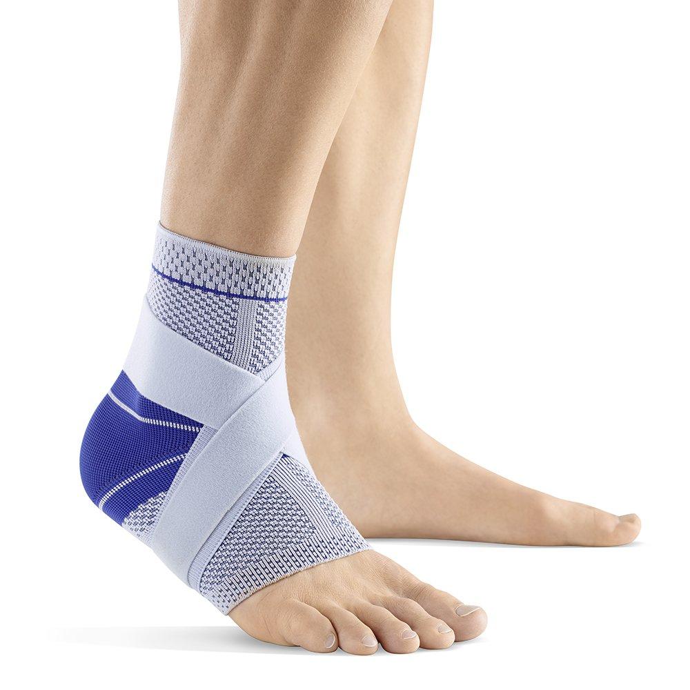 Bauerfeind MalleoTrain Right S Ankle Support (Titanium, 6) by Bauerfeind