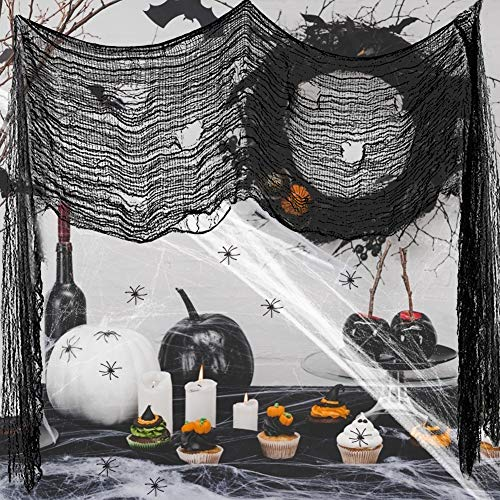Tolles Halloween Set mit Spinnen