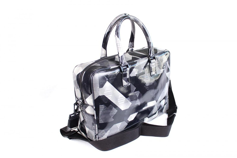 Emporio Armani Men's Action Bag Y4P007YA18V, Size:OneSize;Color:Gray:  Amazon.co.uk: Clothing