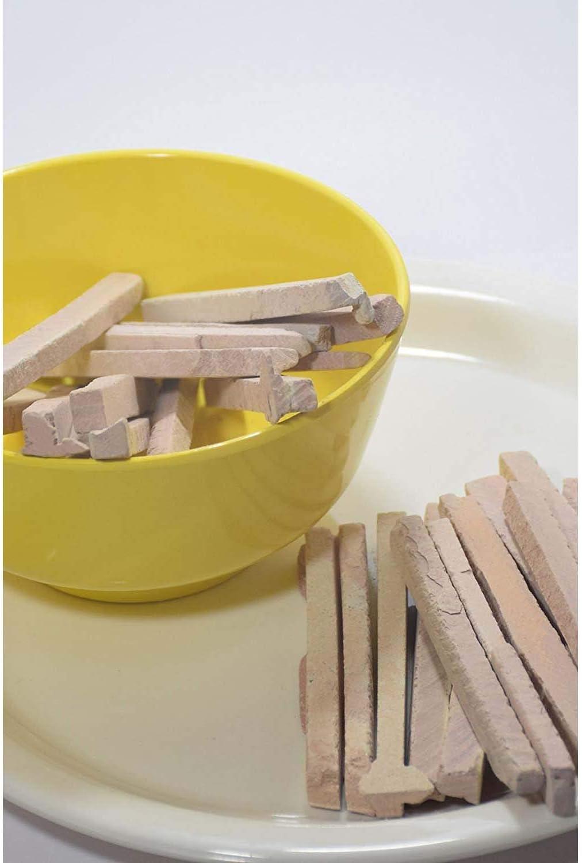 OlgaChalk Pink slates Slate Pencil Pack of 250 gm