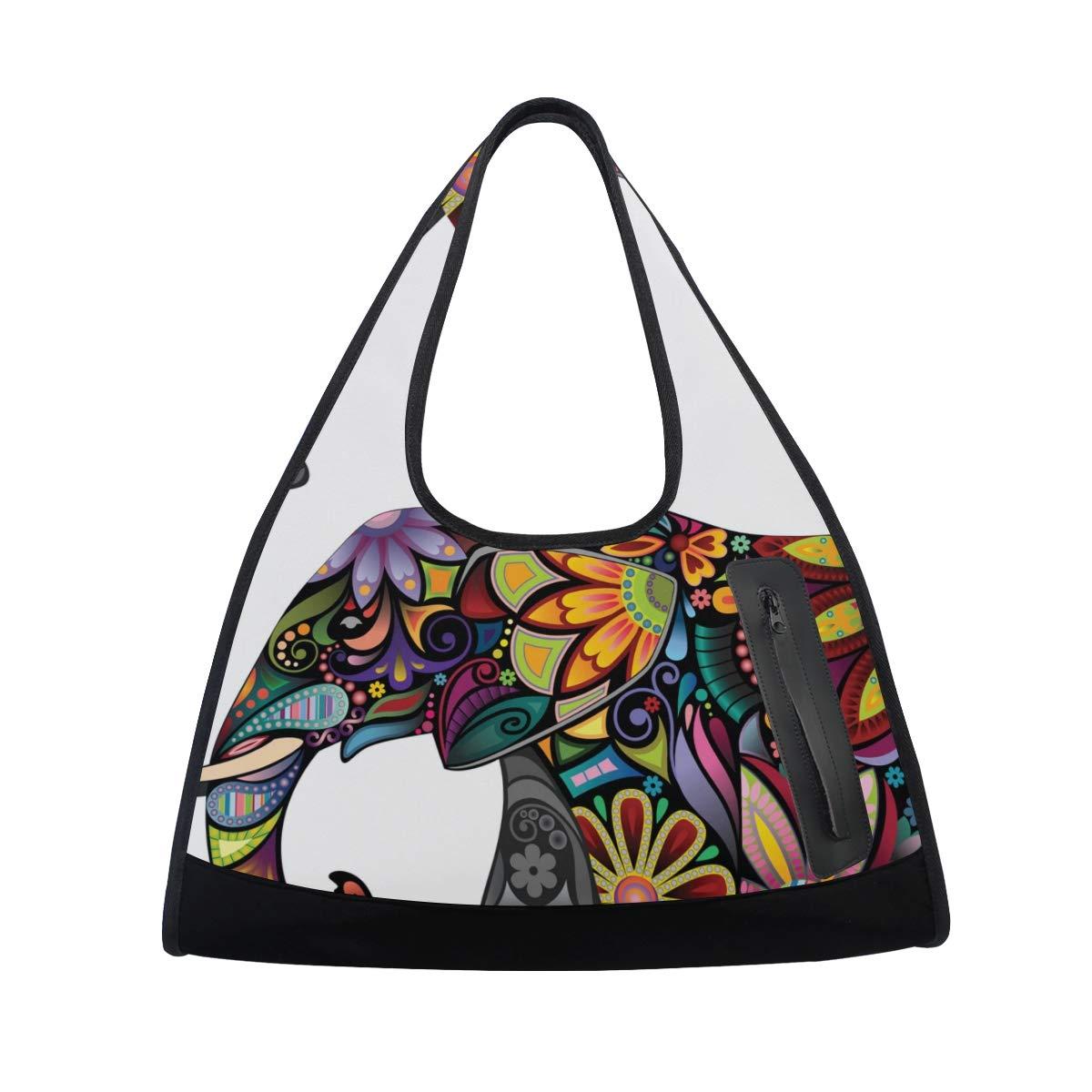 Amazon.com: DEYYA La alegre bolsa de gimnasio de elefante ...