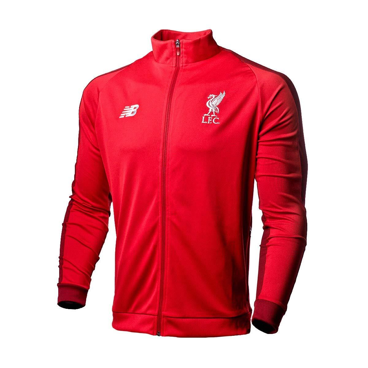 New Balance Liverpool FC 2018-2019, Chaqueta, RCR, Talla S: Amazon ...
