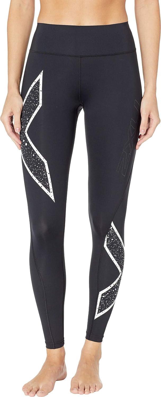 2XU - Legging de sport - Femme Noir noir Galaxy blanc
