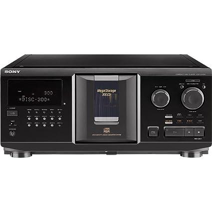 Amazon.com: Sony cdpcx355 300-disc megastorage CD Changer ...