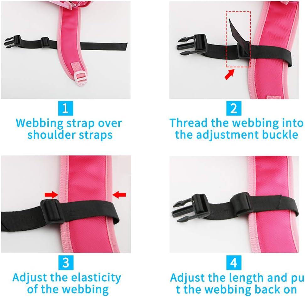 joggingOutdoor Activities 5 Pieces for Attaching Shoulder Straps for Hiking Meilo Rucksack-Riemen Racing Heavy Duty Adjustable Backpack Chest Strap Rucksack Chest Strap