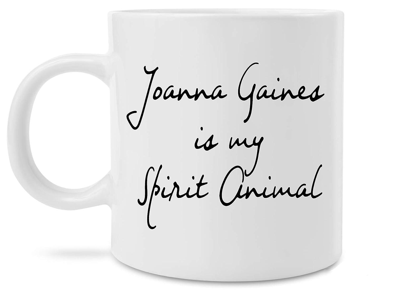 Funny Joanna Gaines is my Spirit Animal Coffee Mug Novelty Fixer Upper Gift