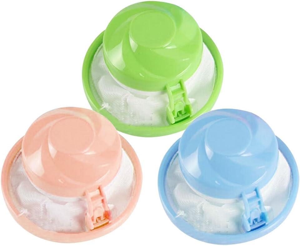 luvcals bola de pelo herramienta de eliminación de filtro lavadora bola de pelo eliminador de succión Stick bolsa