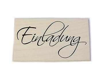 Stempel Einladung, Karten Gestalten, Taufe, Hochzeit, Geburtstag, Embossing