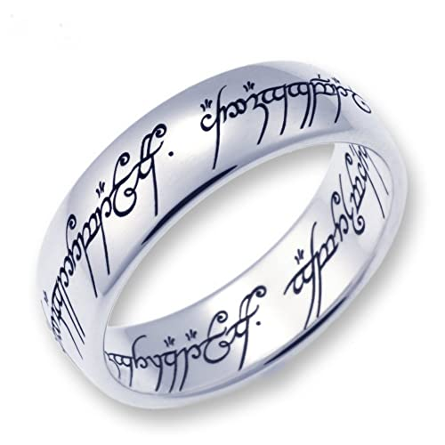 Herr der Ringe Lord of the Rings - 1000-052 - Anillo unisex de acero inoxidable
