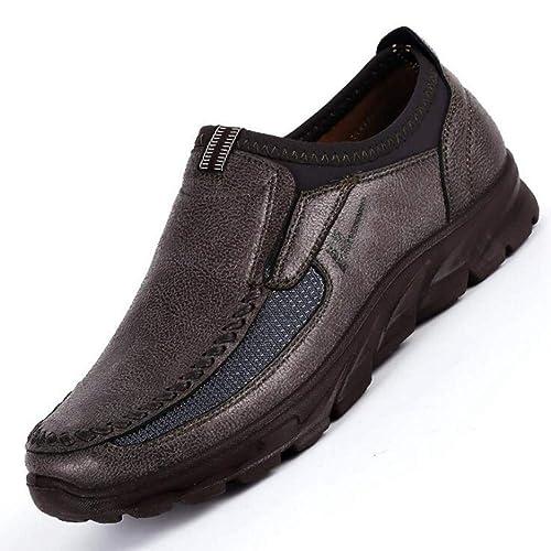 Zapatos De Hombre Confort Hecho A Mano Mocasines Planos Zapatos De Barco De Moda para Hombre Zapatillas De Deporte para Correr Al Aire Libre Zapatos ...