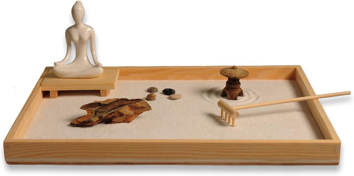 Juego de accesorios y herramientas para jardín Zen de ICNBUYS, madera, A, a,b,c,d,e,f,g,h: Amazon.es: Hogar