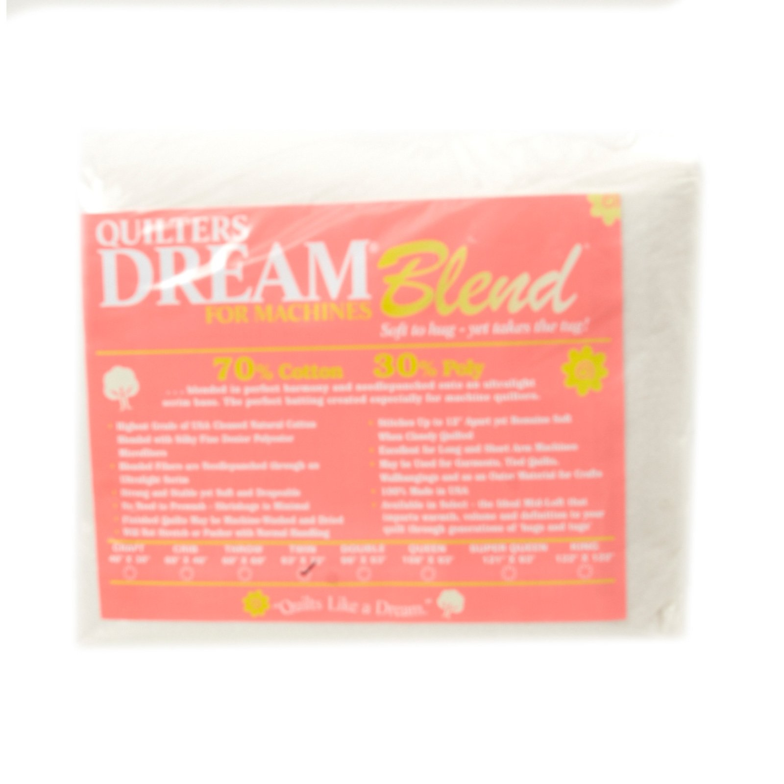 Quilters Dream Blend (93in x 72in) Twin, White