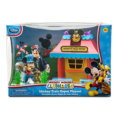Disney Mickey Mouse Mickey Mouse Clubhouse Mickey Mouse Train Depot Play Set