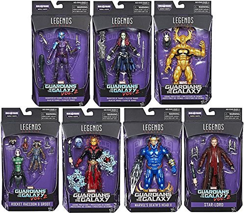 Guardians of the Galaxy Marvel Legends Action Figures SET