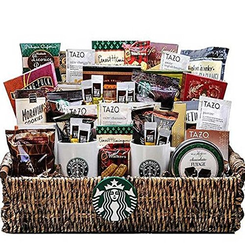 Starbucks Gift Basket All Time Favorite Tea and Coffee Basket