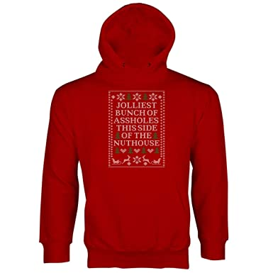 Amazoncom Jolliest Bunch Of A Holes Hoodie Christmas Vacation
