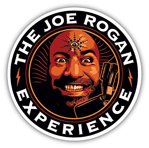 Joe Rogan Experience Decal Sticker Podcast (Best Joe Rogan Podcasts)