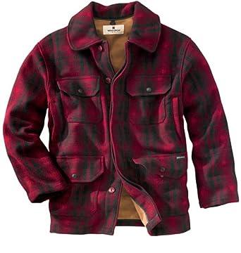 d831bd722e797 Woolrich Men's Classical Field Wool Coat (M) at Amazon Men's ...