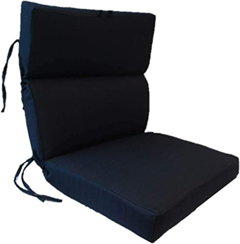 Suntastic Textured Outdoor/Indoor High Back Dining Chair Cushion Review
