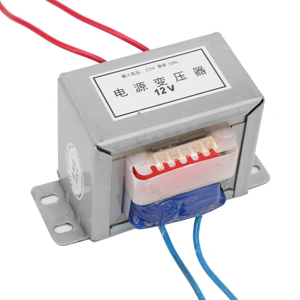 Transformateur de puissance simple /électrique isol/é /à basse fr/équence de 50Hz 80W 220V avec r/égulateur de puissance 12V 24V 24V