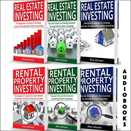 Real Estate Investor: 6 Books in 1: Real Estate Investing (3-Book Series) & Rental Property Investing (3-Book Series)